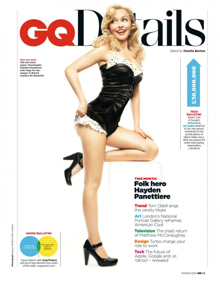 Hayden Panettiere: GQ UK 2014 -09