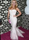 Hayden Panettiere Wear Dress at HBO Golden Globes 2013 Party
