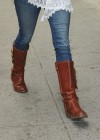 Hayden Panettiere - In a tight jeans and boots-16