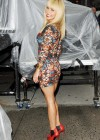 Hayden Panettiere In Tight Dress at The Late Show With David Letterman 2013-01