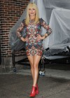 Hayden Panettiere In Tight Dress at The Late Show With David Letterman 2013-02