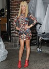 Hayden Panettiere In Tight Dress at The Late Show With David Letterman 2013-03