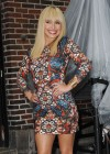 Hayden Panettiere In Tight Dress at The Late Show With David Letterman 2013-04