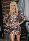 Hayden Panettiere In Tight Dress at The Late Show With David Letterman 2013-06