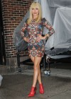 Hayden Panettiere In Tight Dress at The Late Show With David Letterman 2013-10