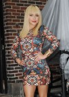 Hayden Panettiere In Tight Dress at The Late Show With David Letterman 2013-11