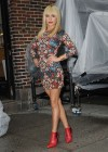 Hayden Panettiere In Tight Dress at The Late Show With David Letterman 2013-13