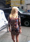 Hayden Panettiere In Tight Dress at The Late Show With David Letterman 2013-14