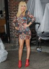 Hayden Panettiere In Tight Dress at The Late Show With David Letterman 2013-18