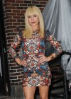 Hayden Panettiere In Tight Dress at The Late Show With David Letterman 2013-20