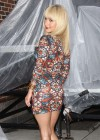 Hayden Panettiere In Tight Dress at The Late Show With David Letterman 2013-25