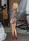 Hayden Panettiere In Tight Dress at The Late Show With David Letterman 2013-38