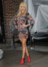 Hayden Panettiere In Tight Dress at The Late Show With David Letterman 2013-48