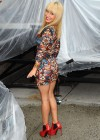 Hayden Panettiere In Tight Dress at The Late Show With David Letterman 2013-52