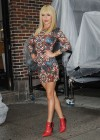 Hayden Panettiere In Tight Dress at The Late Show With David Letterman 2013-54