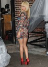 Hayden Panettiere In Tight Dress at The Late Show With David Letterman 2013-62