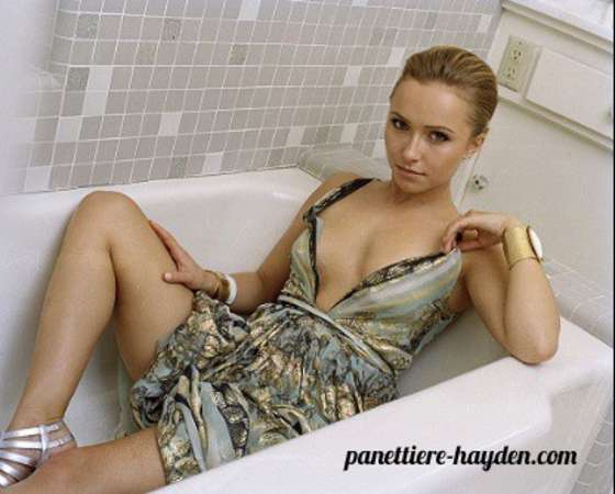 Hayden Panettiere Instyle UK – Outtakes