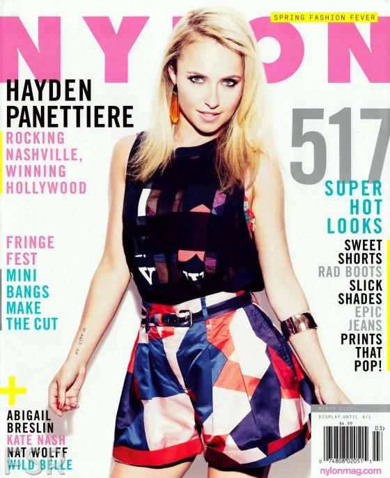 Hayden Panettiere 2013 : Hayden Panettiere – Nylon Magazine March 2013 -04