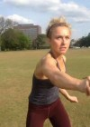 Hayden Panettiere - Playing in a park in Nashville -11
