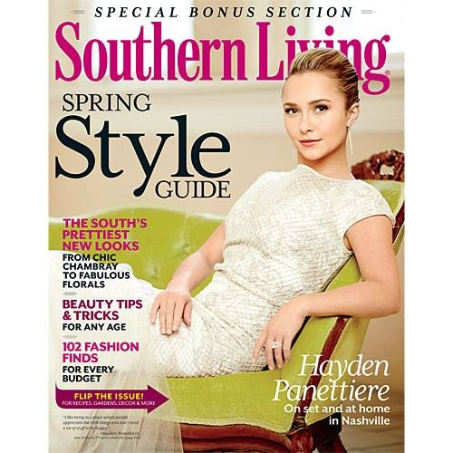 Hayden Panettiere: Southern Living Magazine -30