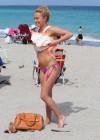Hayden Panettiere - Wearing a bikini on the beach in Miami -03