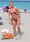 Hayden Panettiere - Wearing a bikini on the beach in Miami -25