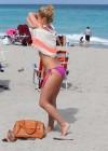 Hayden Panettiere - Wearing a bikini on the beach in Miami -36