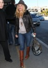 Hayden Panettiere - Wearing Jeans and Boots at LAX Airport