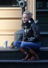 Hayden Panettiere - Tight Jeans in NY-01
