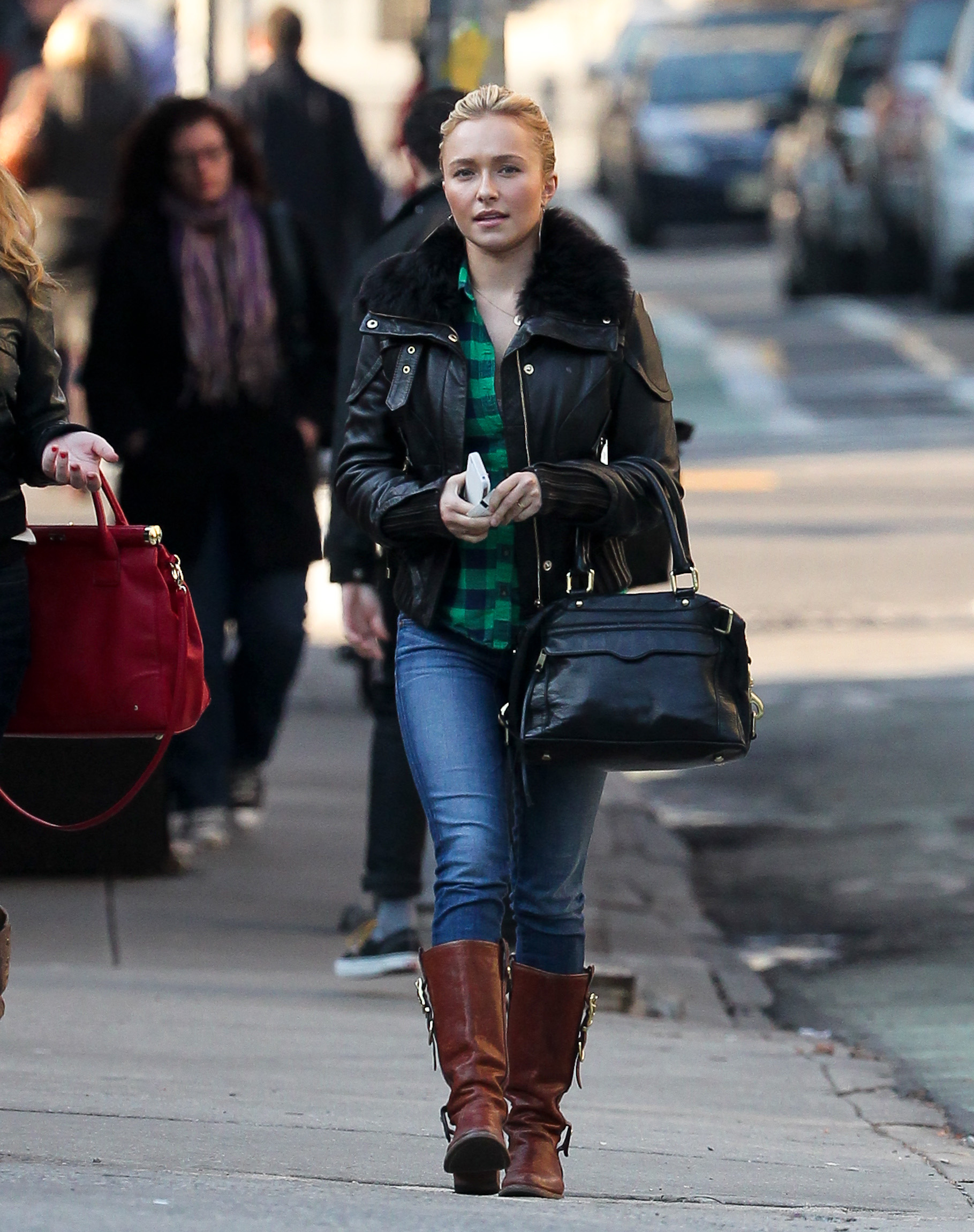 Hayden Panettiere – Tight Jeans in NY-08