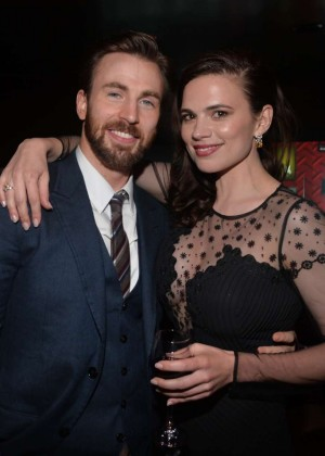 Hayley Atwell - Captain America: The Winter Soldier Premiere -02