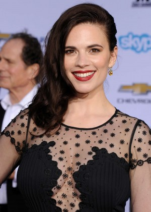 Hayley Atwell - Captain America: The Winter Soldier Premiere -03