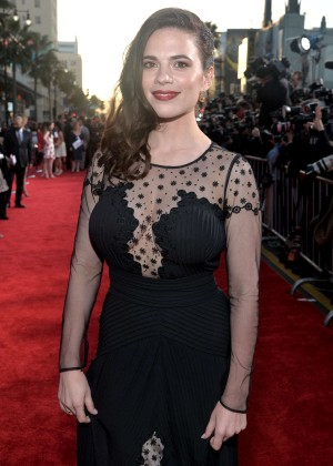 Hayley Atwell - Captain America: The Winter Soldier Premiere -04