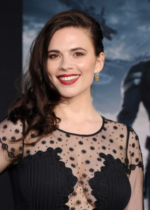 Hayley Atwell - Captain America: The Winter Soldier Premiere -08