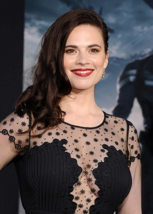 Hayley Atwell - Captain America: The Winter Soldier Premiere -10