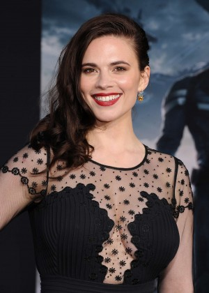 Hayley Atwell - Captain America: The Winter Soldier Premiere -16