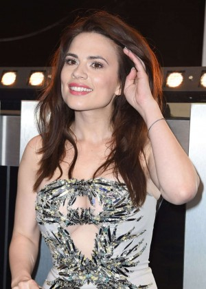 Hayley Atwell: Premiere Captain America: The Winter Soldier -01