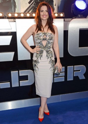 Hayley Atwell: Premiere Captain America: The Winter Soldier -02