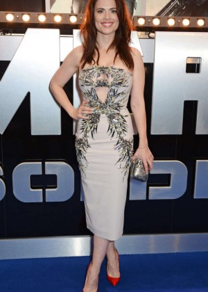 Hayley Atwell: Premiere Captain America: The Winter Soldier -03