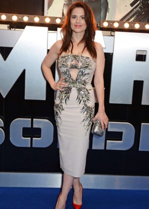 Hayley Atwell: Premiere Captain America: The Winter Soldier -08