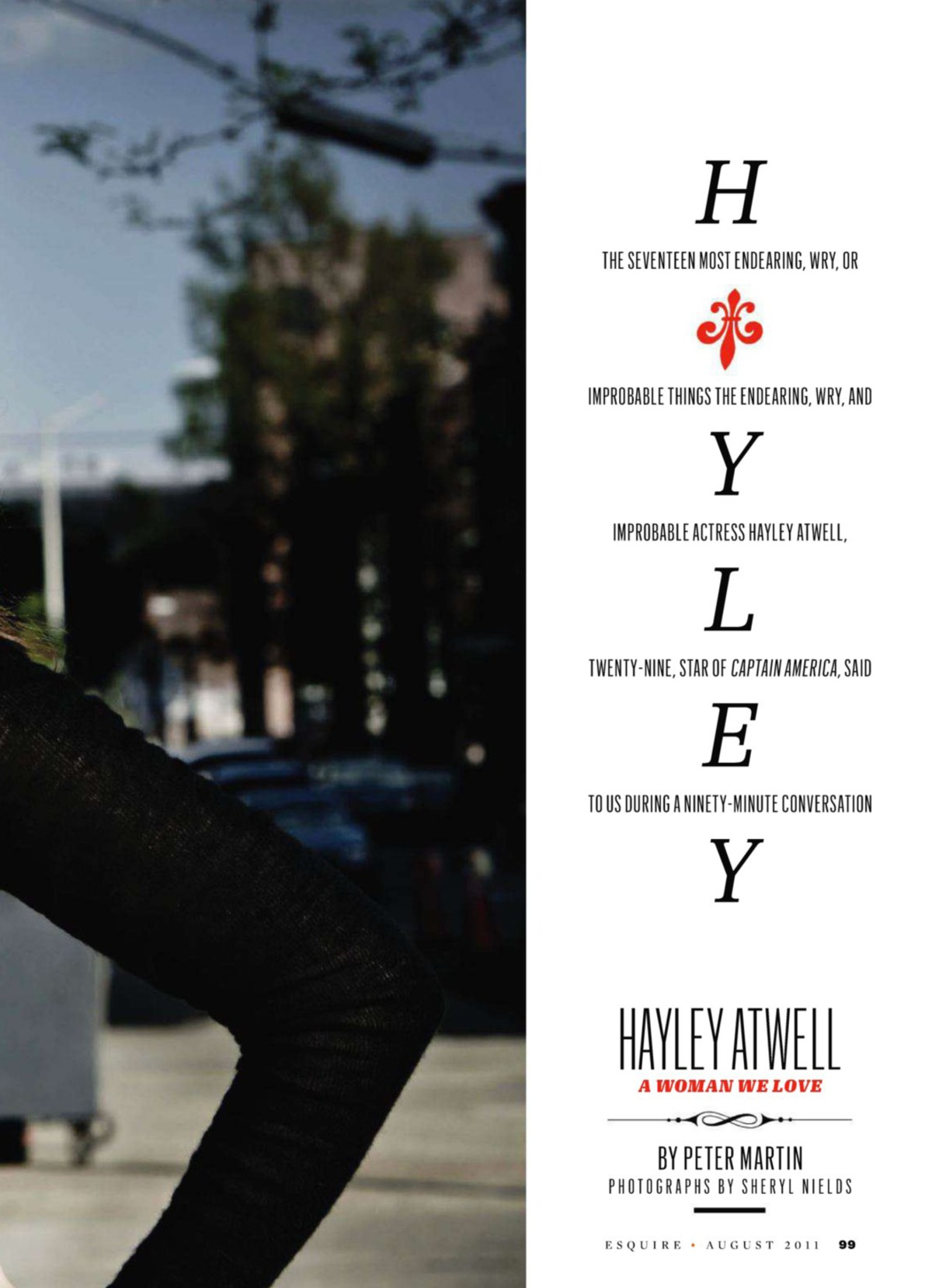 Hayley Atwell - Esquir...