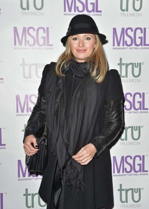 Hayley McQueen - The MediaSkin Gifting Lounge in London