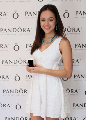 Hayley Orrantia - HBO Luxury Lounge Featuring PANDORA Jewelry in Beverly Hills
