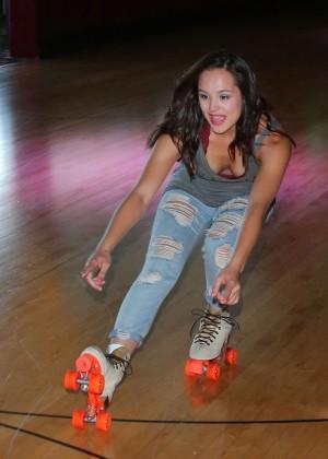 "Hayley Orrantia - ""The Goldbergs"" Press Event in Glendale"