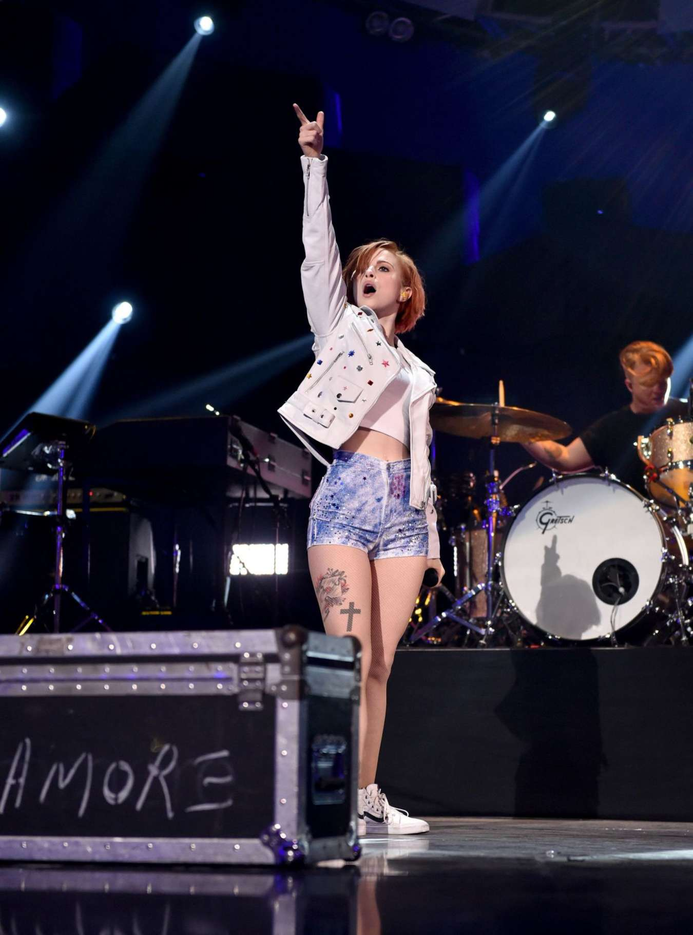 Hayley Williams 2014 Iheartradio Music Festival 06