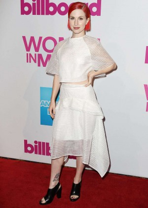 Hayley Williams - Billboard Women In Music Luncheon 2014 in NYC