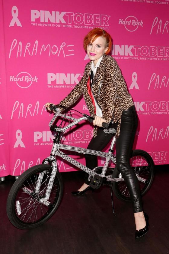 Hayley Williams: 2013 PINKTOBER Campaign -02