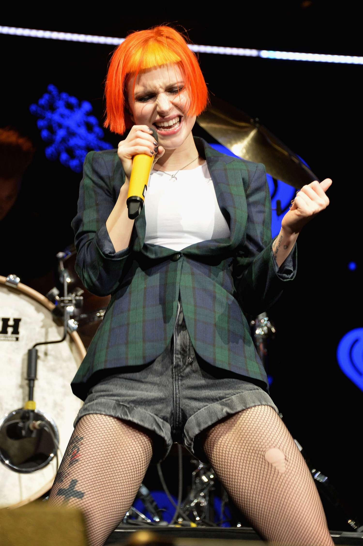 Hayley Williams Performs At Q102 S Jingle Ball In