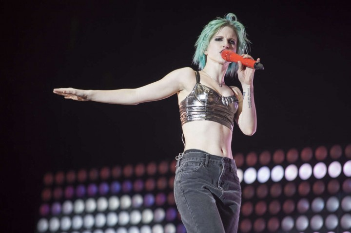 Hayley Williams – Performs at the Reading Festival in Reading