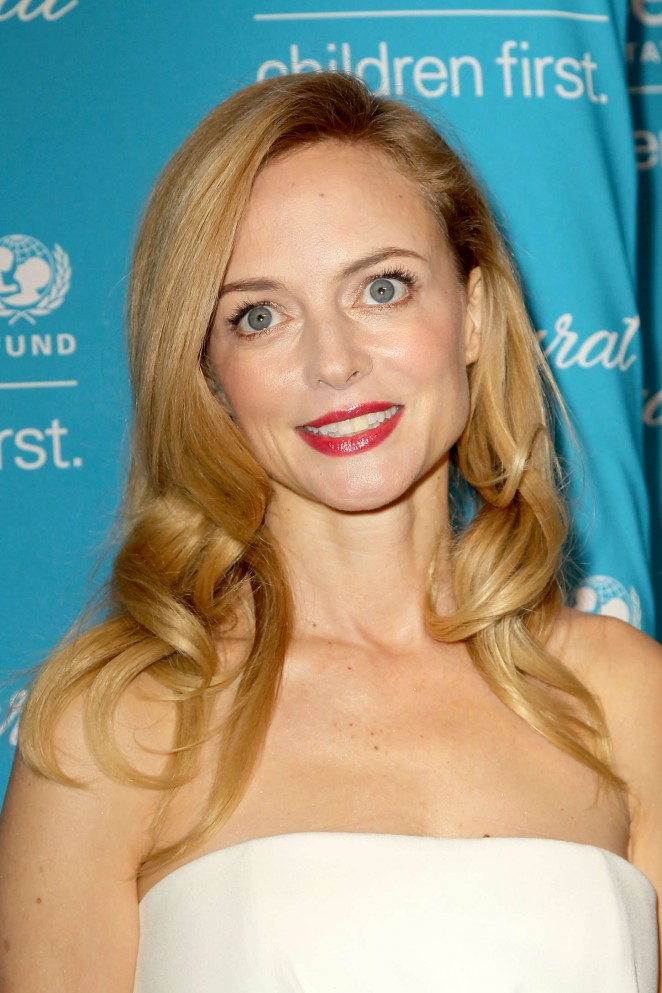 Heather Graham – 10th Annual UNICEF Snowflake Ball in NY
